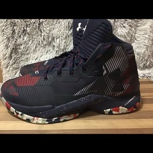 """Under Armour Curry 2.5 """"USA"""" Men's Athletic Shoes"""
